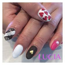 お客様バレンタインネイル2016 サロン Luciaルチアのブログ