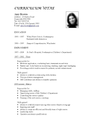 Resume Examples Templates Free Sample Format Teaching Latest