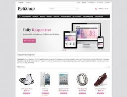 Ecommerce Website Template Interesting Ecommerce Website Homepage Template 28 Free And Premium Css