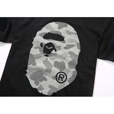 NEW! A Bathing Ape 3M Reflective Logo T-Shirt| Buy A Bathing Ape Online