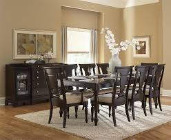 dining room table and chairs rounded hardwood dining table hang round simple chandeliers rectangular
