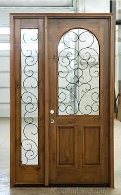 wrought iron glass doors with 52 wrought iron stained glass door inserts