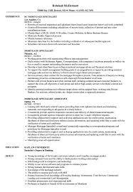 Mortgage Specialist Resume Samples Velvet Jobs