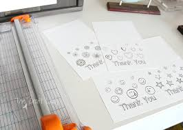 Free printable thank you cards for kids. Printable Thank You Card Coloring Sheets The Crazy Craft Lady