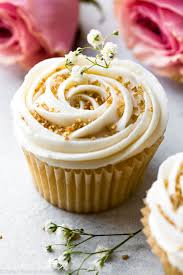 fall wedding cupcakes. Perfect Cupcakes Soft And Fluffy Vanilla Wedding Cupcakes Topped With Champagne Frosting  Perfect For Any Celebration Throughout Fall Wedding Cupcakes C
