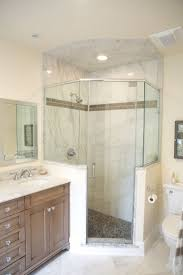 bathroom bathroom half wall glamorous neo angle shower stalls with walls google search bathroom half