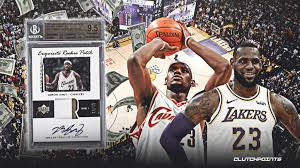 '18 moments collection / cavaliers moments. Lakers News Lebron James Card Sold For Record Breaking 1 8 Million