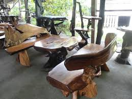 Garden Bench Set Made of Rosewood Philippines