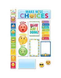 Behavior Clip Chart Emoji Fun Behavior Clip Chart Mini Bulletin Board