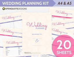 Printable Wedding Timeline Checklist Printable Wedding Planner Organizer Printable Wedding Etsy
