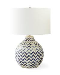 Lovely Inlaid Bone Table Lamp,