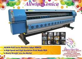 Allwin Konica Banner Printing Machine At Rs 650000 Triplicane