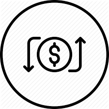 Send Payment Icon Receive Money Bank Transfer Transaction