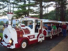 all aboard the sunny hill train