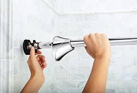 best tension shower curtain