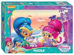 Купить <b>Пазл Step puzzle Никелодеон</b> Шиммер и Шайн (91167 ...