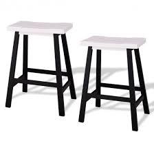 white saddle stool. Beautiful White 24 To White Saddle Stool