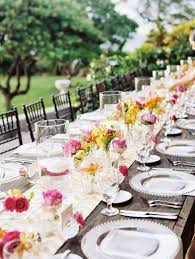 wedding table runners table setting ideas for a very special day decoration 4 17