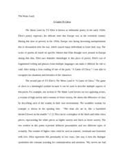 english cause and effect essay binge drinking cause and effect  3 pages english the waste land essay