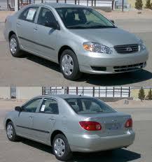 Mileage for the 2003 Toyota Corolla