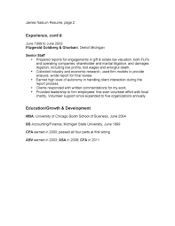 Gallery Of Resume Bullet Points Examples