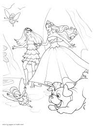 Barbie Coloring Pages. The Princess Popstar Best Of And Coloring ...