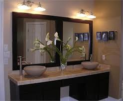bathroom vanity mirrors. double frame and mirror bathroom vanity mirrors