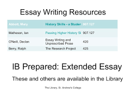 ib extended essay guide chevy dissertation discussion  ee home extended essay guide libguides at concordian