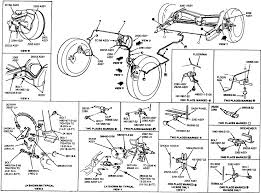 ford brake system diagram repair guides brake operating system  at 1984 Mercury Lynx Fuse Box Outline
