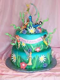 Tinkerbell Birthday Cake And Cupcakes Girls Ideas 5 Cakes For St
