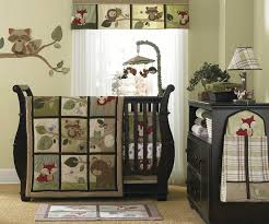 bedroom fashionable vintage baby bedding ideas with cool animal