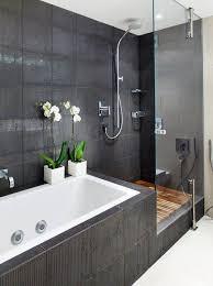 bathroom tile ideas nz. Unique Ideas The Black Tiles In This Bathroom Create A Sleek Ultramodern Look And Bathroom Tile Ideas Nz R