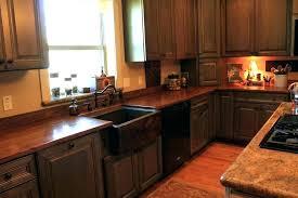 hammered copper countertops kitchen secret hand