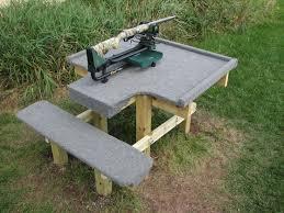 Bench Shooting Benchs Portable Shooting Bench Benches Plans Seat Plans For Portable Shooting Bench