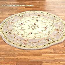 6 foot round rug idea 5 braided rugs area 4x6 oval