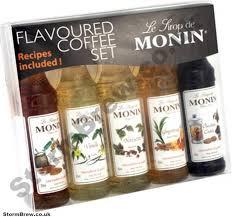 monin syrup coffee gift set
