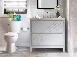 bathroom refresh with scrubbing bubbles