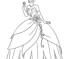 princess tiana coloring pages princess and the frog coloring page princess coloring pages free printable and