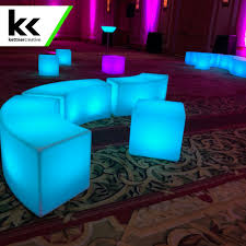 Lighted Cocktail Tables For Rent Led Illuminated Furniture Rental Vancouver Kelowna