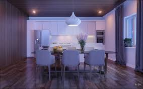 Dining Room  Modern Dining Room Lighting Idea With Wall Mounted - Dining room light fixture glass