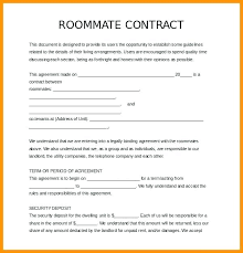 free lease agreement word doc roommate lease agreement templates free sample example format
