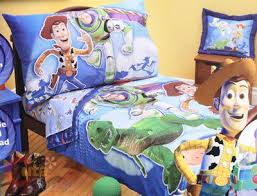 woody toy story toddler bed set