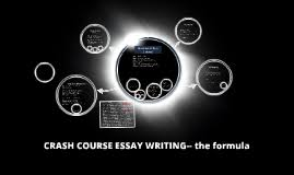 crash course essay writing by juan enriquez on prezi