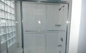 bathtub glass shower door frameless bathtub doors chino hills