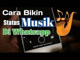 Cara save story wa (whatsapp) orang di android resmi begini cara mode gelap whatsapp; Cara Bikin Status Musik Di Whatsapp Youtube