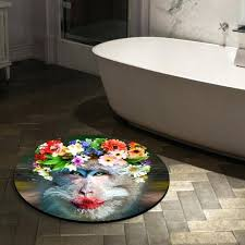 Small Round Bath Rug Small Round Bathroom Mats Small Round Rugs