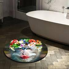 Small Round Bath Rug Small Round Bathroom Mats Small Round Rugs