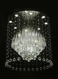 beautiful large contemporary crystal chandeliers modern chandelier large crystal light fixture for lob regarding