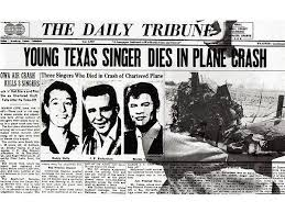 buddy holly plane crash newspaper article. The Day Music Died Anniversary Of Death Buddy Holly Ritchie Valens PEOPLEcom Throughout Plane Crash Newspaper Article
