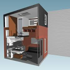 Small Picture 160 Square Foot Micro Apartment In A Tiny Brick House